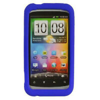 Dark Blue Rubber SILICONE Soft Gel Skin Case Cover for Verizon HTC Rhyme