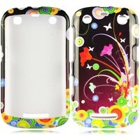 Flower Art HARD Protector Case Phone Cover for BlackBerry Curve 9350 9360 9370