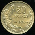 20 FRANCS GEORGES GUIRAUD 1950 3 FAUCILLES