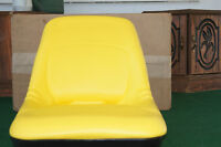 HIGH BACK SEAT YELLOW FOR JOHN DEERE LAWN TRACTORS AM126865
