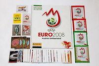 Panini EM EC Euro 2008 08 – KOMPLETTSATZ + Leeralbum ALBUM + 4 Tüten MINT TOP!