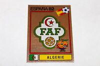 Panini WM WC ESPANA 82 1982 – BADGE WAPPEN SCUDETTO No. Nr. 100 ALGERIA ALGERIEN