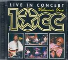 CD ALBUM LIVE 8 TITRES--10CC / 10 CC--LIVE IN CONCERT / VOLUME ONE