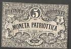 5 Lire Moneta Corrente Patriottica 1848 Venezia