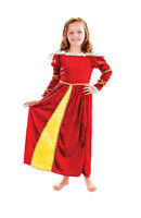 GIRLS MEDIEVAL TUDOR FANCY DRESS COSTUME