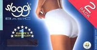 SLOGGI basic  -  MAXI Briefs  -  2 pair pack -  BLACK