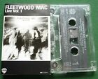 Fleetwood Mac Live Vol 1 inc Say You Love Me + Cassette Tape - TESTED