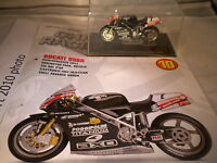 Deagostini Champion Racing Bikes - Issue 10 -Ducati 998 R - Pierfrancesco Chili