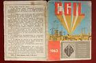 Tessera CGIL 1963 Mantova #T304