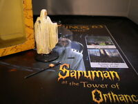 Lord of the Rings Figures - Issue 63 - Saruman at Orthanc - eaglemoss broke