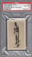 1923 Union Jack Monarchs of the Ring Dick Smith PSA 4