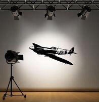 RAF SPITFIRE WW2     WALL STICKER ART DECAL