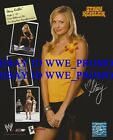 WWE Wrestling OFFICIAL LICENSED PHOTO FILE GLOSSY PROMO DIVA 8x10 Stacy Keibler