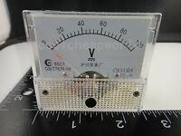 0-100V DC 85C1 Analog Volt Voltage Panel Meter Voltmeter