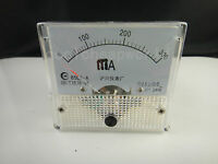 Analog AMP Current Panel Meter DC 0-300mA 300mA 85C1 Ammeter