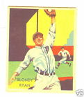 1934 -36 DIAMOND STARS BLONDY RYAN #40 * Philadelphia  Nationals
