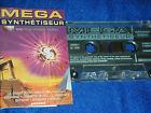 K7 AUDIO cassette MEGA SYNTHETISEUR les 100 plus grand themes ARCADE 1996