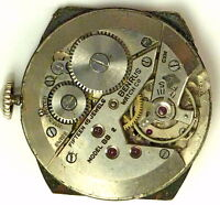 Benrus BB2 Complete Running Wristwatch Movement - Spare Parts / Repair