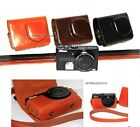 NEW Leather case bag- Nikon COOLPIX P310 P300 digital camera black brown coffee