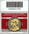2009 francobollo Accademia di Studi Italo-Tedeschi CON CODICE A BARRE 1238
