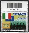 2010 francobollo 20 anni di Antitrust per le persone CON CODICE A BARRE 1350