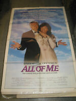 ALL OF ME / ORIG.  U.S. ONE-SHEET  MOVIE  POSTER (STEVE MARTIN & LILY TOMLIN)
