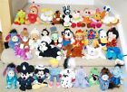 Collectable Exclusive USA DISNEY BEANIES Cruella Pooh Abu Marie Patti Eric Suzy