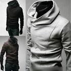 Sexy Mens Slim Fit Top Designed Hoodies Jackets Coats E520 3Color 4 Size FF1037