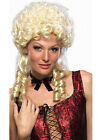 Ladies Woman Wigs Costume Fancy Dress Up Blonde Curly Sweet Marie