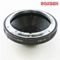 Canon FD Mount Lens to C Mount 16mm Film Camera Adapter Eclair Digital Bolex NPR