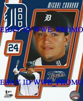 Miguel Cabrera Triple Crown Detroit Tigers MLB LICENSED 8X10 Baseball PHOTO