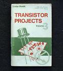 Vintage 1976 book TRANSISTOR PROJECTS Radio Shack Vol 3 electronics IC circuits
