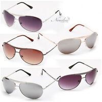 Men Metal Classic Spring Temple Hinge Aviator Sunglasses Choose 5 Various colors