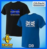 EVERTON union jack pride   football sportng fc funny  T SHIRT small to 5XL D9