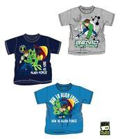 New Boys Ben 10 Short Sleeve Top Kids Ben10 T-Shirt Age 3-8 Years