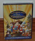 LOS TRES MOSQUETEROS DISNEY DVD NUEVO PRECINTADO ANIMACIÓN (SIN ABRIR) R2