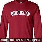 Brooklyn Yankee LONG SLEEVE T-Shirt - Baseball Block New York All Sizes & Colors
