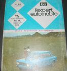 FIAT 128 REVUE TECHNIQUE AUTOMOBILE 1971 EXPERT N° 62