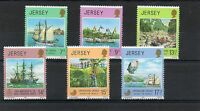 Stamps,Jersey, 6 stamps Operation Drake & 150th Anniv. Royal Geog mint ,1980