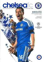 * 2012 CHAMPIONS LEAGUE SEMI-FINAL - CHELSEA v BARCELONA (RARE) *