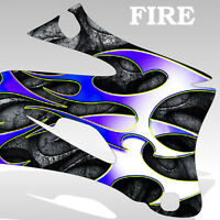 2002-2013 Yamaha YZ 85 Graphics KIt Decal Sticker FIRE decal motocross