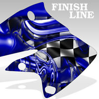 1990-2013 Yamaha PW 80 Graphics KIt Decal Sticker FINISH LINE deco motocross