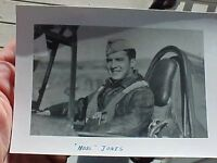 ORIGINAL WWII PHOTO 23RD FIGHTER GROUP ACE LYNN JONES