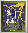 MIGHTY THOR MARVEL SUPER HEROES PAINT BY NUMBER POSTER A Marvelmania RARE 1966