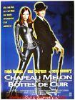 CHAPEAU MELON ET BOTTES DE CUIR AVENGERS Movie Poster / Affiche Cinéma Originale