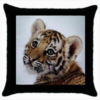 NEW* HOT CUTE BABY TIGER Quality Throw Pillow Case Cushion Cover Gift