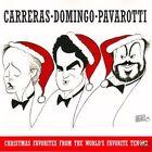 """CARRERAS DOMINGO PAVAROTTI """"Christmas favorites"""" (CD)"""