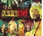 """K2R RIDDIM """"Live"""" (CD Digipack) 1999"""