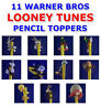 11 NEW RETIRED WARNER BROS LOONEY TUNES PENCIL TOPPER FIGURE CHARMS YOU PICK ONE