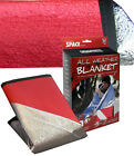 """All Weather Blanket Emergency Survival gear 60""""X84""""Original SPACE Brand  Red NEW"""